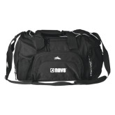 High Sierra Black Switch Blade Duffel-NAVS