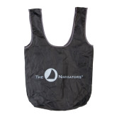Navigators Black Packable Nylon Bag-