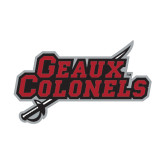 Medium Decal-Geaux Colonels-Sword, 8 in W