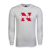 White Long Sleeve T Shirt-Alumni N