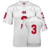 State Replica White Adult Football Jersey-#3