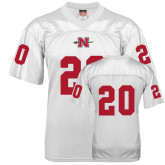 State Replica White Adult Football Jersey-#20