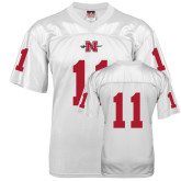 State Replica White Adult Football Jersey-#11