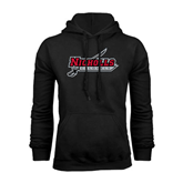 Champion Black Fleece Hood-Nicholls Colonels-Sword