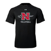 Under Armour Black Tech Tee-Volleyball