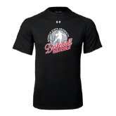 Under Armour Black Tech Tee-Basketball w/ Ball and Figure