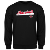 Black Fleece Crew-Baseball Script