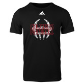 Adidas Black Logo T Shirt-Adidas Colonels Football Logo