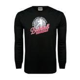 Black Long Sleeve TShirt-Basketball w/ Ball and Figure