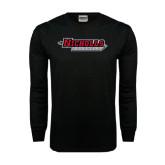 Black Long Sleeve TShirt-Nicholls Colonels