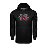State Under Armour Black Performance Sweats Team Hood-N-Sword