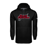 State Under Armour Black Performance Sweats Team Hood-Geaux Colonels-Sword