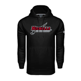 State Under Armour Black Performance Sweats Team Hood-Nicholls Colonels-Sword