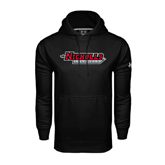 State Under Armour Black Performance Sweats Team Hood-Nicholls Colonels