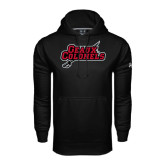 Under Armour Black Performance Sweats Team Hood-Geaux Colonels-Sword