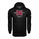 Under Armour Black Performance Sweats Team Hoodie-Soccer