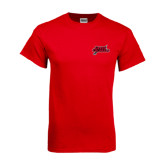 Red T Shirt-Geaux Colonels-Sword