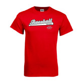 Red T Shirt-Baseball Script