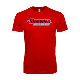 SoftStyle Red T Shirt-Nicholls Colonels