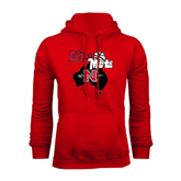 Champion Red Fleece Hood-Gday Mate
