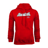 Red Fleece Hood-Baseball Script