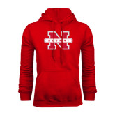 Red Fleece Hood-Alumni N