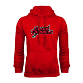 Champion Red Fleece Hood-Geaux Colonels-Sword
