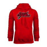 Red Fleece Hood-Geaux Colonels-Sword