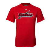Under Armour Red Tech Tee-Nicholls Colonels-Sword