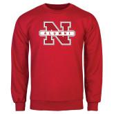 Red Fleece Crew-Alumni N