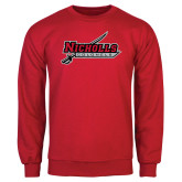 Red Fleece Crew-Nicholls Colonels-Sword