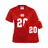 Ladies Red Replica Football Jersey-#20