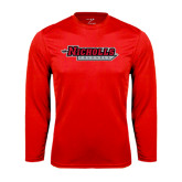Syntrel Performance Red Longsleeve Shirt-Nicholls Colonels