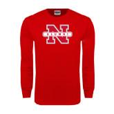 Red Long Sleeve T Shirt-Alumni N