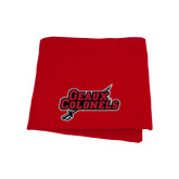 Red Sweatshirt Blanket-Geaux Colonels-Sword