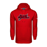 State Under Armour Red Performance Sweats Team Hood-Geaux Colonels-Sword