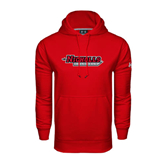State Under Armour Red Performance Sweats Team Hood-Nicholls Colonels