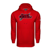 Under Armour Red Performance Sweats Team Hood-Geaux Colonels-Sword