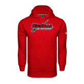 Under Armour Red Performance Sweats Team Hoodie-Nicholls Colonels-Sword
