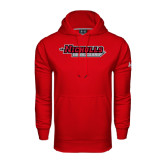 Under Armour Red Performance Sweats Team Hood-Nicholls Colonels