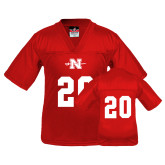 Youth Replica Red Football Jersey-#20