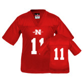 Youth Replica Red Football Jersey-#11