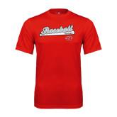 Syntrel Performance Red Tee-Baseball Script