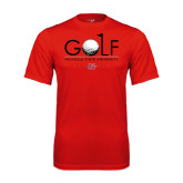 Syntrel Performance Red Tee-Golf w/ Ball and Flag
