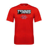 Syntrel Performance Red Tee-Tennis w/ Player