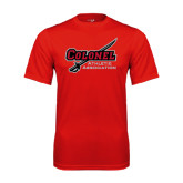 State Syntrel Performance Red Tee-Colonel Athletic Assn