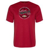 Performance Red Tee-2018 Mens Basketball Champions