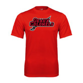 Syntrel Performance Red Tee-Geaux Colonels-Sword
