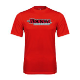 Syntrel Performance Red Tee-Nicholls Colonels