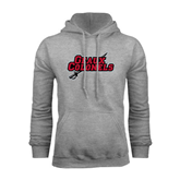 Champion Grey Fleece Hood-Geaux Colonels-Sword